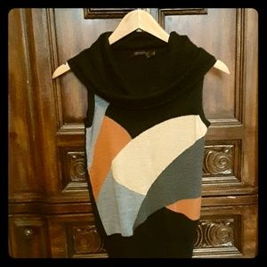 The Limited Sleeveless Cowl Neck Sweater S